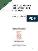 REPRESENTACIONES Y CONSTRUCCIÓN DEL PODER