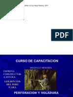 Curso de Capacitacion en Perforacion y Voladura