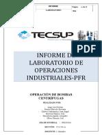 Informe de Laboratorio de Operaciones In