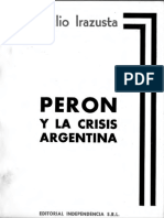 Irazusta Julio - Peron y La Crisis Argentina
