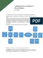 Conceptos de Administración Estratégica Y EVALUACIÓN EXTERNA
