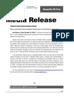 morgan press release