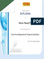9010 Diploma Tarjetas Electrónicas de Lavadoras Refrigerados y Aire Acondicionado