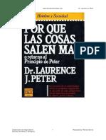 Por que las cosas salen mal - Dr Laurence J Peter.pdf
