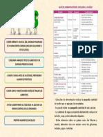 Diptico Alimentación Saludable 6 a 10 Años HOJA 2