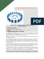 Unidad 4º Ejecicio de La Profesión en La Administración Privada y Pública
