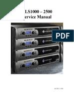 142195-1 XLS3 Service Manual 4-2010