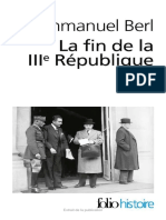 Emmanuel Berl, La Fin de La IIIe République
