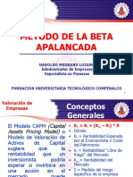 Metodo de La Beta Apalancada
