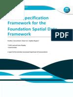 FSDF-Data Specification Framework[1]