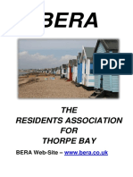 BERA History Brochure