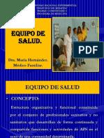 Equipo de Salud 2011