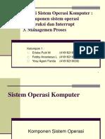 Sistem Operasi Ppt