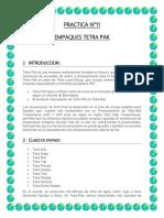 PRACTICA N°11- EMPAQUES TETRA PAK