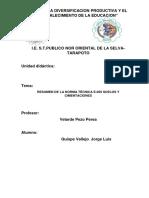 Resumen de La Norma Técnica e.050 Suelos y Cimentaciones