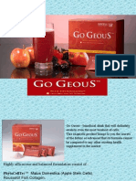 GoGeous - An Introduction to Swiss Apple Stem Cell Technology