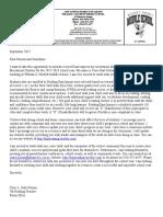 parents letter curriculum