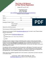 fiber retreat registration 2017a