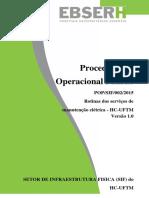 POP - Rotinas dos serviços de manutenção elétrica - revisto 2.pdf
