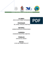 ADMON. de OPERA I UNIDAD 1