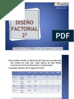 Diseño Factorial 22