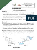 Final Exam ME2 Electrical 2015