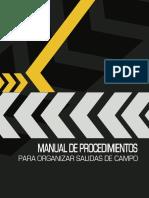 Manual de Procedimientos Para Organizar Salidas de Campo