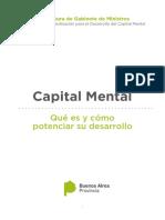2016 Informe Capital Mental - PBA