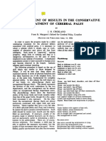 1951 the Assessment of Results in the Conservative Treatment of Cerebral Palsy. ADCh