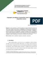 Linguagens, Paradigmas e Perspectivas Sobre a Utilização Dos Dispositivos Moveis