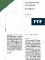 Rofman y Romero Sistema Socioeconomico y Estructura Regional en La Argentina PDF
