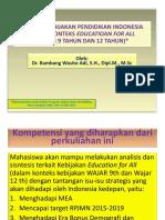 Analisis Kebijakan Pendidikan ( S3)