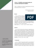 A Lei n. 11.340-06 e suas repercussões no contrato individual de trabalho .pdf