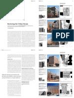 Restoring the Urban Dream