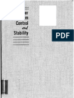 Power Systems Control and Stability