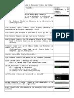 Glosario de Comandos Básicos de Debian 9