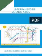 Los Subterráneos de Buenos Aires