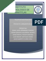 Protocolo Cargador Solar