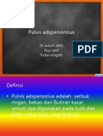 Pulvis adspersorious