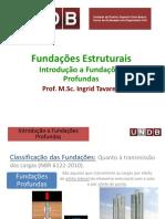 Introdução a Fundações Profundas