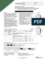 Accell AL Series Spec Sheet Dimmer Cooper Mlv-600va