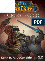 [Warcraft] [World of Warcraft 11] DeCandido, Keith R. a. - El Ciclo Del Odio [32203] (r1.0)