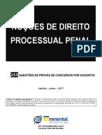 8 EA CQ Nocoes de Direito Processual Penal PC-MS Agente Demonstracao