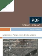 Diseno Urbano Diapositva