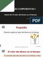 Sesion 2 - Finanzas Corporativas I