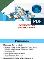 05 Implementasi Sistem E Bisnis