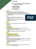 Banco de Preguntas Examen on Line Derecho Laboral y Previsional