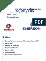 Overview de Estandares NEC IEC ATEX - 2013