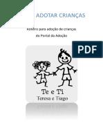 Cartilha Como Adotar Crianças - Roteiro para Adoção de Crianças do Portal da Adoção.pdf