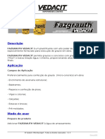 FAZGRAUTH Vedacit [Plastificante]